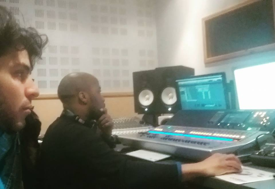 En plein mixage avec Ismael Metis